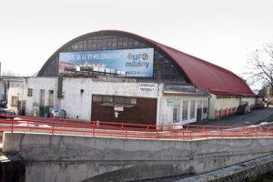 Banskobystrický zimný štadión.