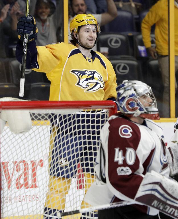 Filipa Forsberga vyhlásili za najväčšiu hviezdu týždňa v NHL.
