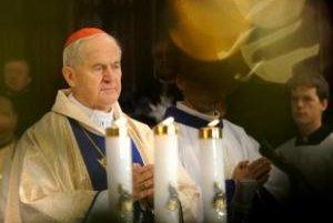 Slávnostná omša v Konkatedrále sv. Martina v Bratislave 1. januára 2008. Na snímke kardinál Jozef Tomko.