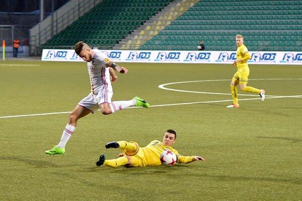 Dohrávka 18. kola Fortuna ligy medzi Michalovcami a Ružomberkom sa hrala v Žiline.