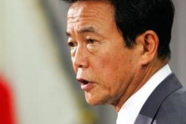 Minister zahraničných vecí Japonska Taro Aso.