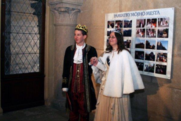 Na Bojnickom zámku vyvrcholil projekt venovaný histórii Bojníc a Handlovej.
