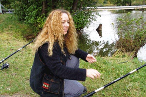 Pre Valiku Šaryovú je rybačka relaxom.