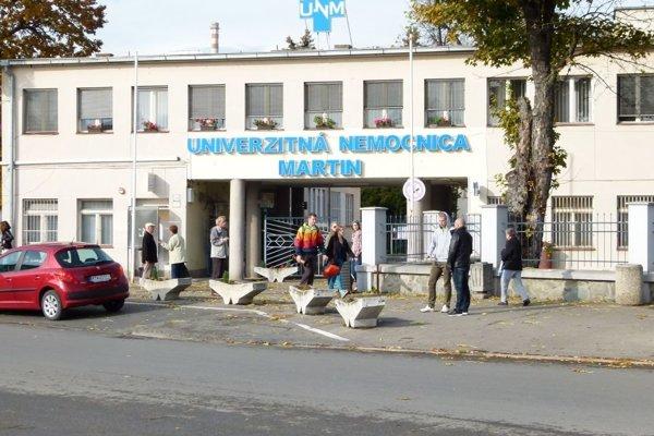 Martinská nemocnica je vo všeobecnosti u pacientov obľúbená.