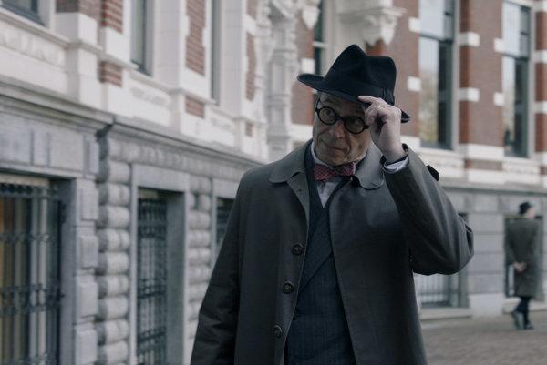Karel Roden vo filme Masaryk.