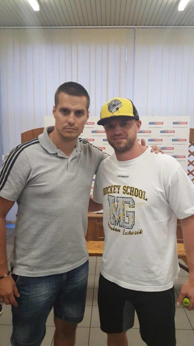Michal Kopčan je súčasťou Hokejovej školy Mariána Gáboríka.