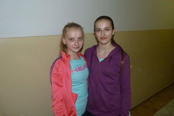 Zľava: Zdenka Slatinská a Kristína Stieranková.