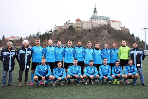 Takto nastúpili futbalisti Lapáša na posledný prípravný zápas.