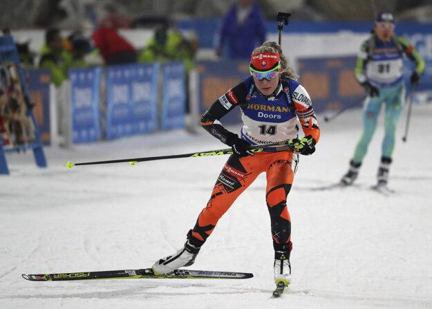 Paulína Fialková na olympijských tratiach vybojovala v stíhačke 10. miesto.
