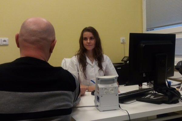 MUDr. Katarínu Puchľákovú možnosť pracovať na pracovisku NTS zaujala.