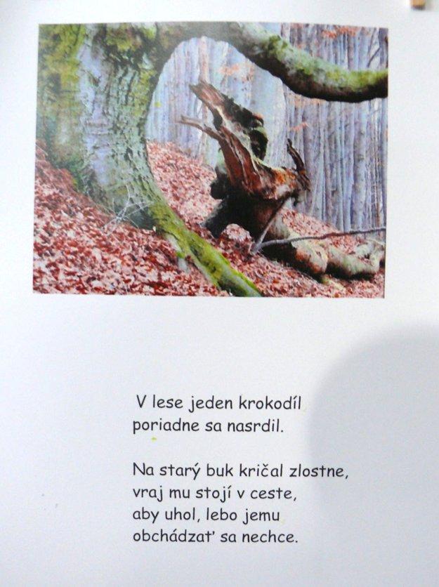Inšpirácia z prírody. K fotke nevšedného stromu napísala Martinčanka takúto báseň.