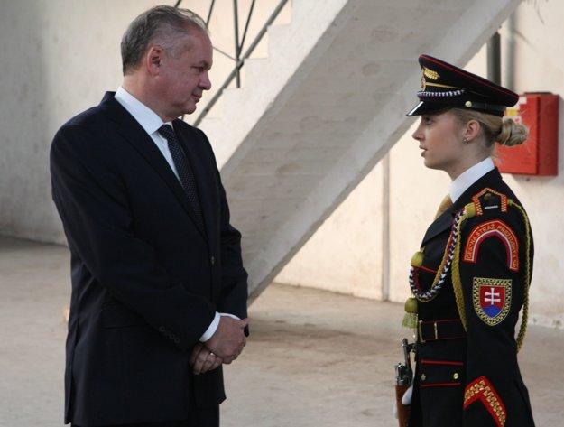 S prezidentom Andrejom Kiskom.