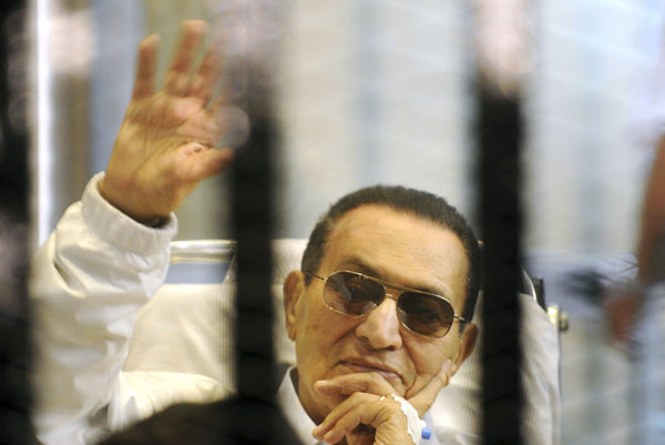 Bývalý egyptský prezident Husní Mubarak.