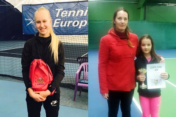 Bianca Behúlová sa dostala do semifinále na medzinárodnom podujatí v Bratislave. Lucia Hradecká (s mamou Andreou) vyhrala turnaj v Piešťanoch.
