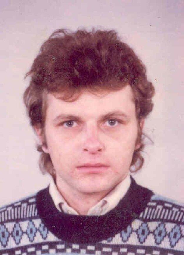 Nezvestný Miroslav Gábor z Hrachovišťa.