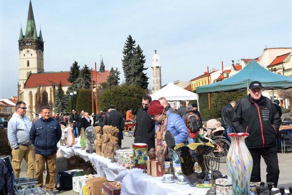 Burza v Prešove. Má dobrú tradíciu.