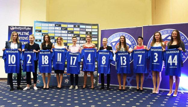 Ideálna jedenástka ženskej ligy.