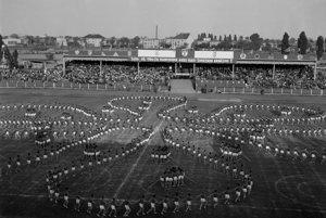 Legendárna Spartakiáda v roku 1955