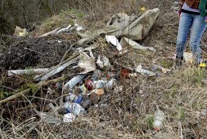 Odpad v prírode. Noví pracovníci budú mať na starosti odstraňovanie neporiadku v košických lesoch.