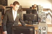 V Strednej priemyselnej škole v Považskej Bystrici mali žiaci tiež možnosť maturovať elektronicky.