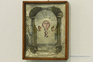Ikona Kristus a Bohorodička, Východná Európa, 2. pol. 19. stor.
