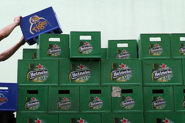 Pivo Heineken je známe po celom svete.
