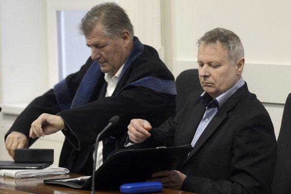 Miroslav Uchnár (vpravo).