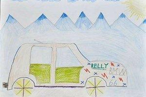 Výtvarná súťaž. Rallye Tatry očami detského fanúšika.
