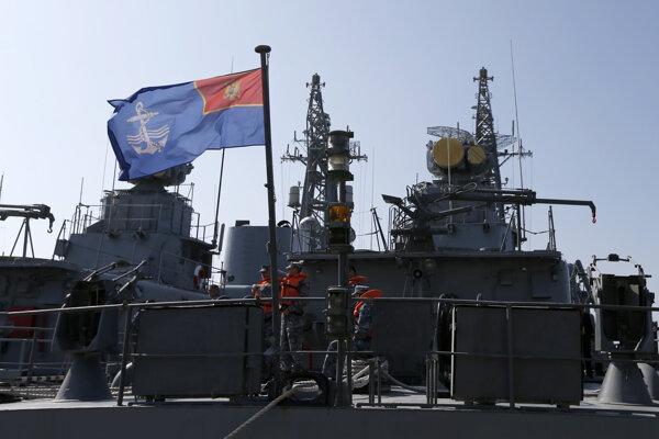 Námorné sily Čiernej Hory.