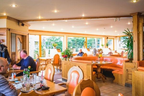 Príjemné prostredie v reštaurácii Culinarium.