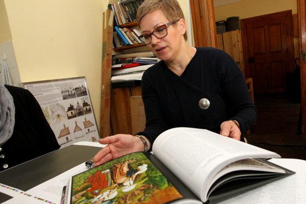 Katarína Vošková.