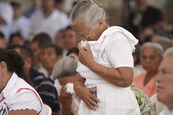Spomienka na obete masakry v El Mozote (ilustračné foto).