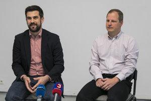 Šéf Slovensko.Digital Ján Hargaš a expert zo Slovensko.Digital  Ľubor Illek.
