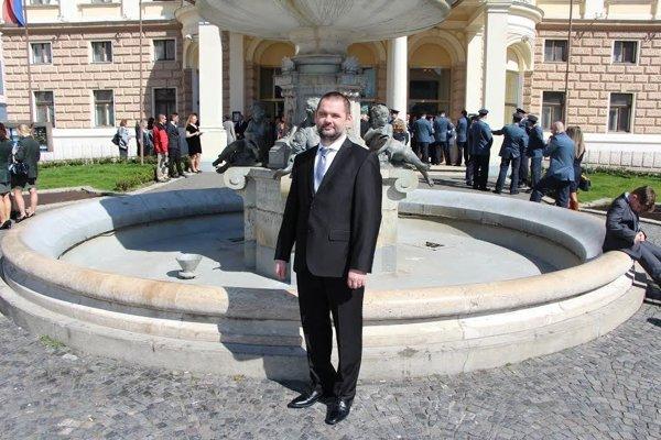 Marek Puškár. Ocenený záchranár.