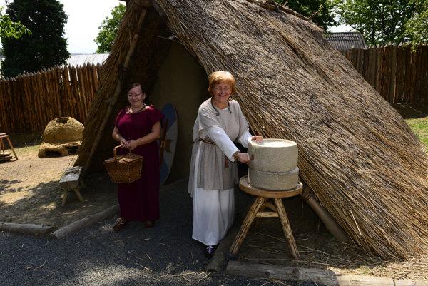 Archeopark v Hanušovciach nad Topľou.