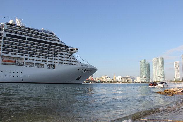 Plavba východným Karibikom začína v Maiami v USA.