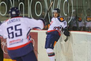 Libor Hudáček strelil zatiaľ jediný gól zápasu.