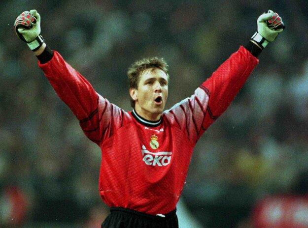 Bodo Illgner sa teší z víťazného gólu vo finále Ligy majstrov v roku 1998.