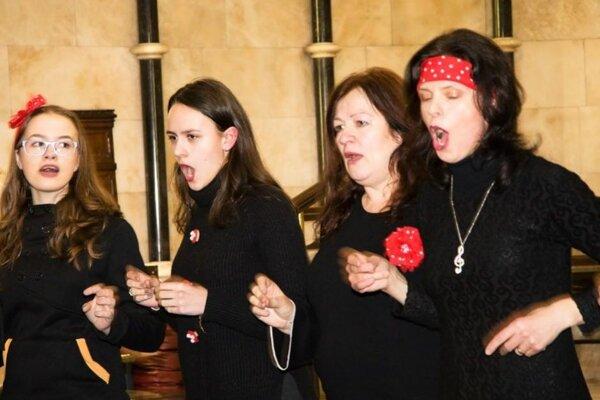 Mystic Choir v Anglicku.