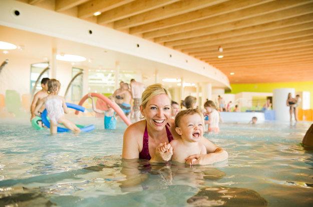 V Sonnentherme Lutzmannsburg si kúpele užijete aj s bábätkom.