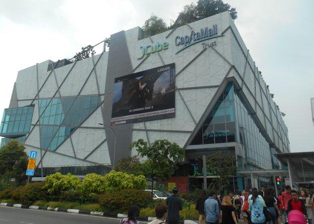 V tomto obchodnom centre sa odohrával turnaj v Singapure.