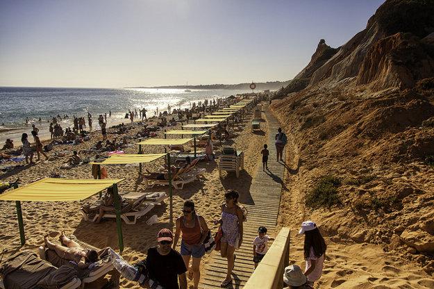 Algarve je výbornou turistickou destináciou.