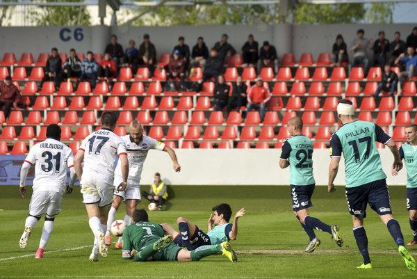 Víťazný gól strelil Milovan Kapor v nadstavenom čase.