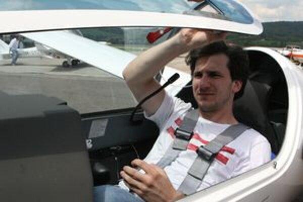 Pre Juraja Mokrého je lietanie celoživotnou záľubou.