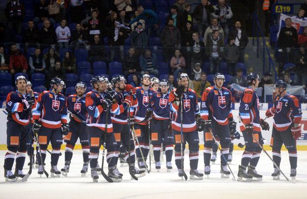 Hokejisti Slovenska prehrali ďalší zápas.