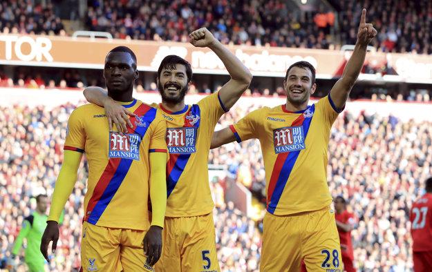 Crystal Palace prekvapil Liverpool na jeho trávniku.