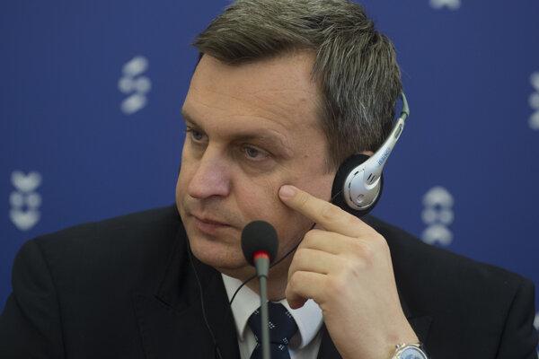 Na snímke predseda NR SR Andrej Danko.