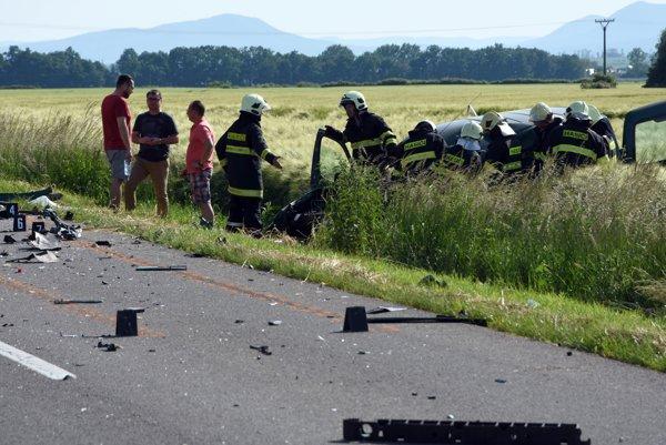 Po tragickej dopravnej nehode.