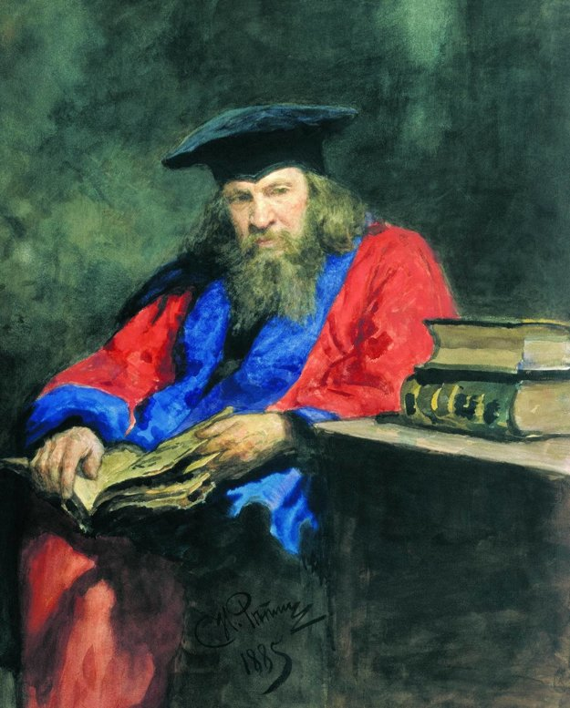 Dmitrij Ivanovič Mendelejev.