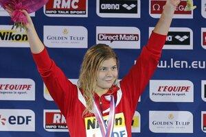 Dánska plavecká hviezda Lotte Friisová.